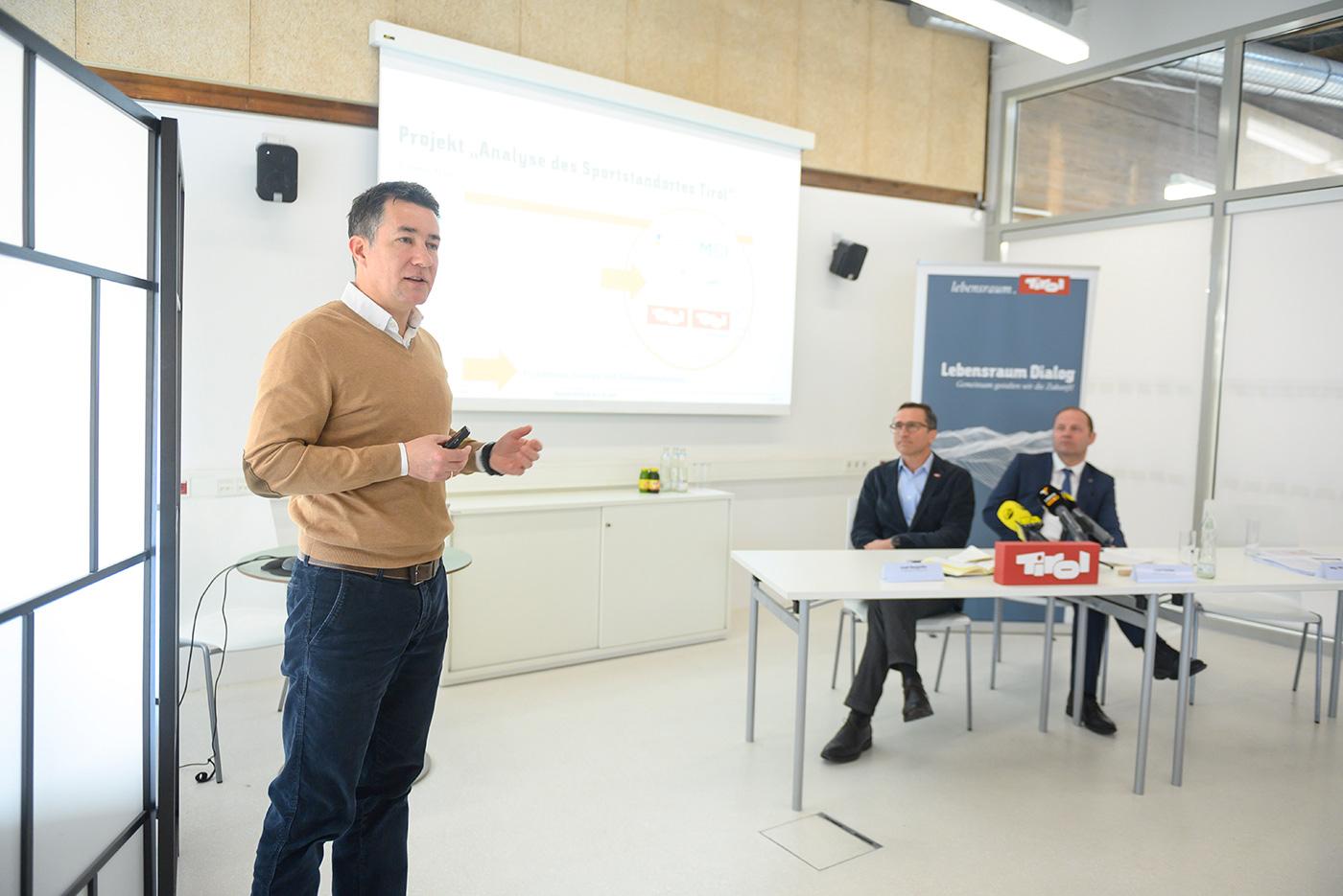 Vortrag Sportwissenschaftler Martin Schnitzer